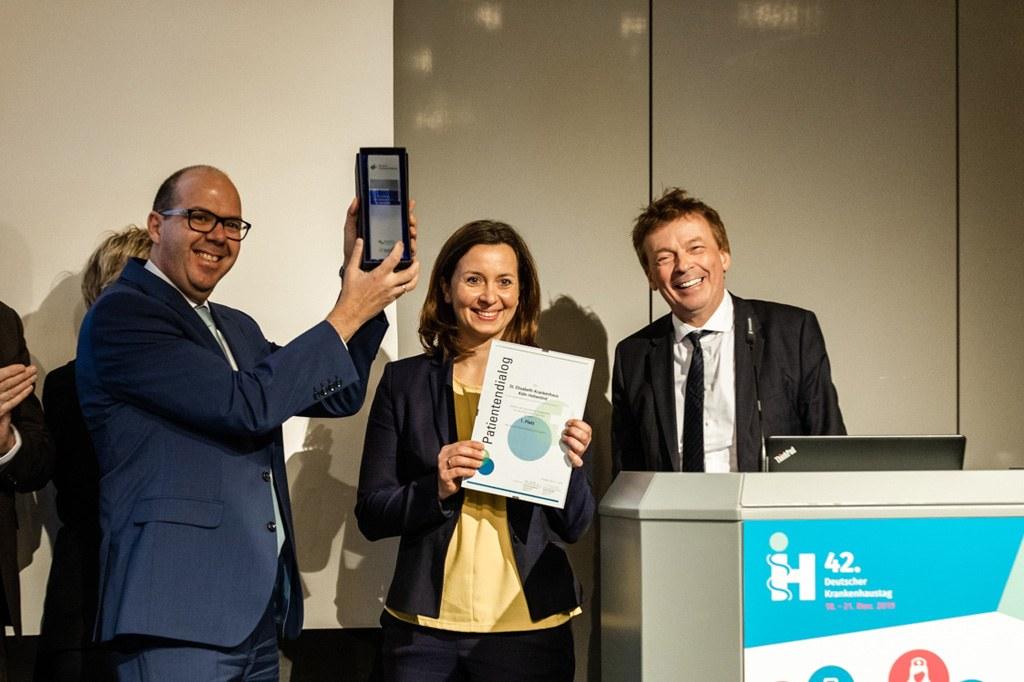 Klinik Köln-Hohenlind gewinnt Award 2019