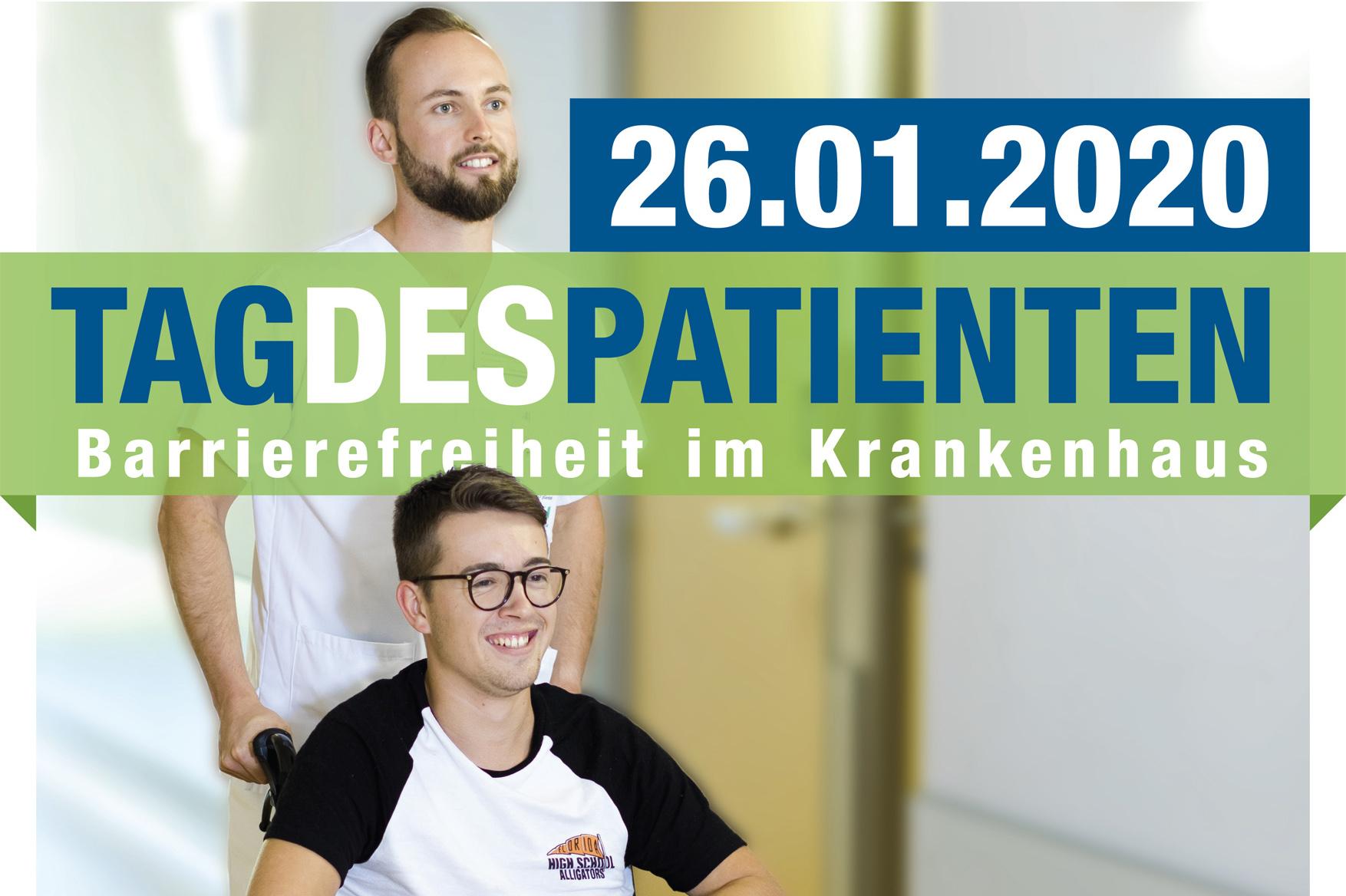 Tag des Patienten 2020: Kliniken für Barrierefreiheit