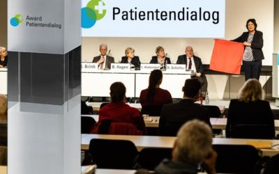 Startschuss für den Award Patientendialog 2020
